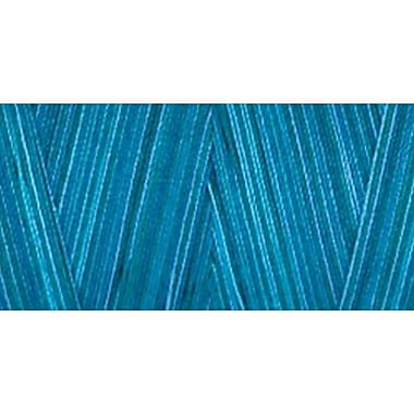 Star Mercerized Cotton Thread Variegated, Deep Ocean, 1200 Yards