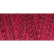 Star Mercerized Cotton Thread Variegated, Wine Tasting, 1200 Yards