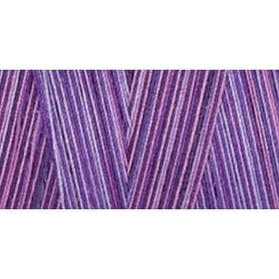 Star Mercerized Cotton Thread Variegated, Violet Eve, 1200 Yards