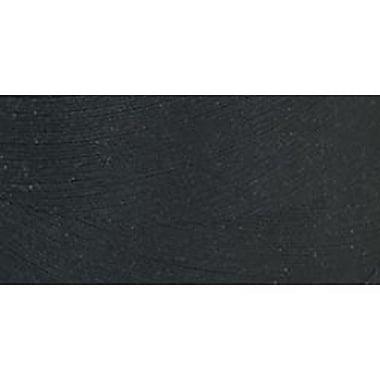 Star Mercerized Cotton Thread Solids, Black, 1200 Yards