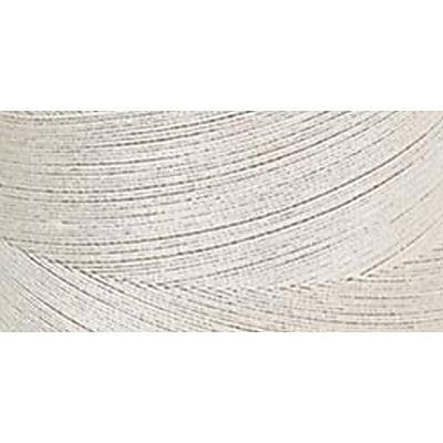 Star Mercerized Cotton Thread Solids, Ecru, 1200 Yards