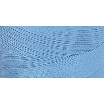 Star Mercerized Cotton Thread Solids, Medium Blue, 1200 Yards
