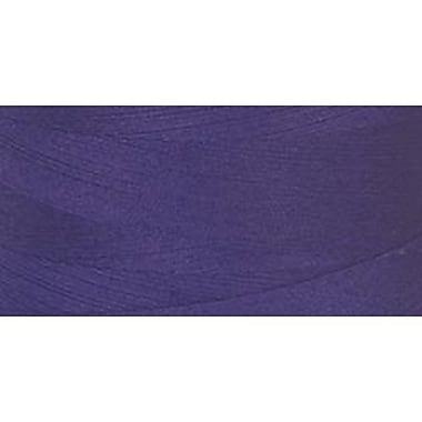 Star Mercerized Cotton Thread Solids, Purple, 1200 Yards