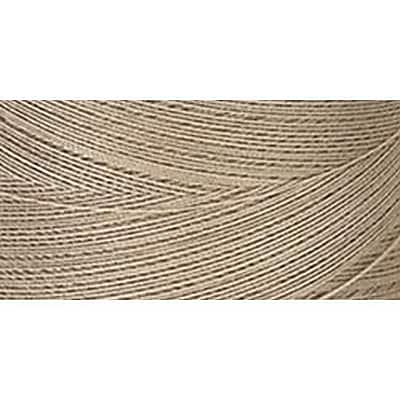 Star Mercerized Cotton Thread Solids, Khaki, 1200 Yards