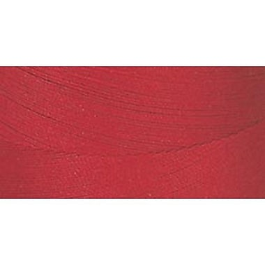 Star Mercerized Cotton Thread Solids, Red, 1200 Yards
