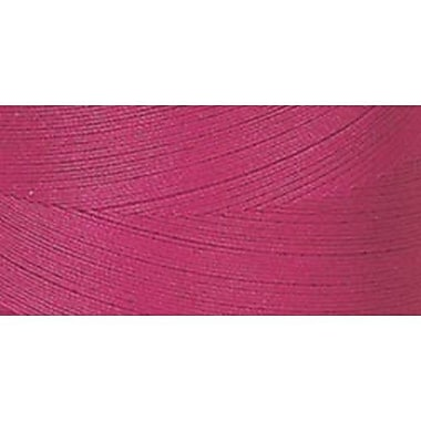 Star Mercerized Cotton Thread Solids, Red Rose, 1200 Yards