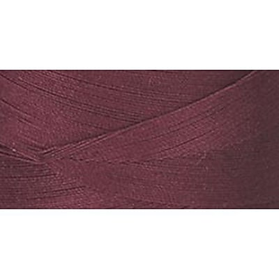 Star Mercerized Cotton Thread Solids, Barberry Red, 1200 Yards