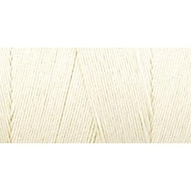 Star Mercerized Cotton Thread Solids, Eggshell Cream, 1200 Yards