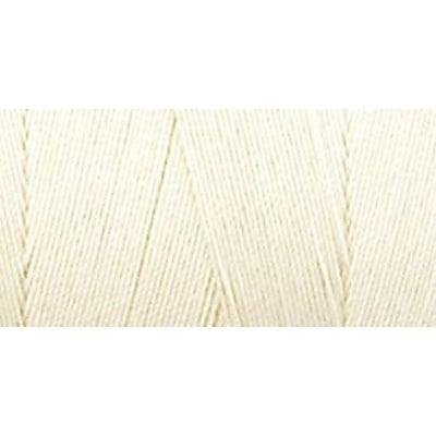 Star Mercerized Cotton Thread Solids, Eggshell Cream, 1200 Yards