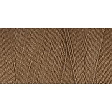 Star Mercerized Cotton Thread Solids, Brown Chestnut, 1200 Yards