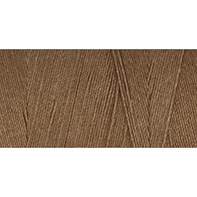 Star Mercerized Cotton Thread Solids, Brown Chestnut, 1200 Yards