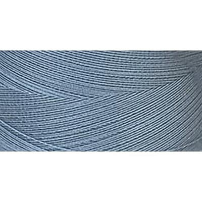 Star Mercerized Cotton Thread Solids, Azure Blue, 1200 Yards