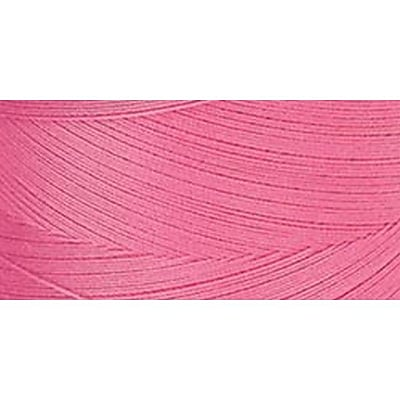 Star Mercerized Cotton Thread Solids, Hot Pink, 1200 Yards