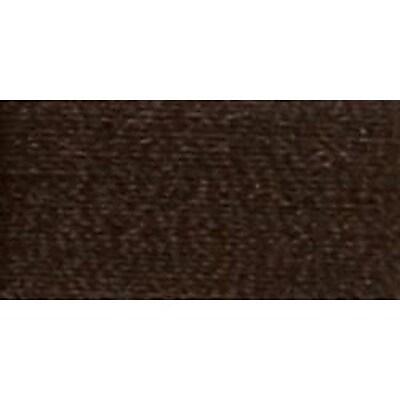 Woolly Nylon Thread Solids, Deep Brown, 1000 Meters
