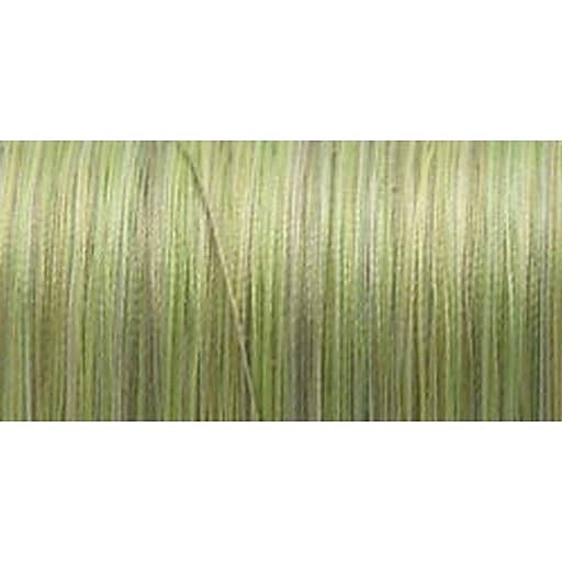 Silk Variegated Thread, Variegated Greens, 200 Meters