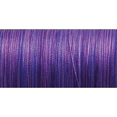 Silk Variegated Thread, Variegated Purples, 200 Meters
