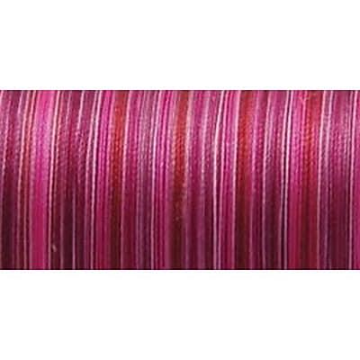 Silk Variegated Thread, Variegated Rubies, 200 Meters