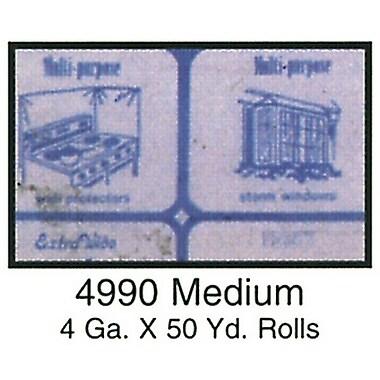 Clear Vinyl, Medium 4 Gauge, Blue Paper, 54