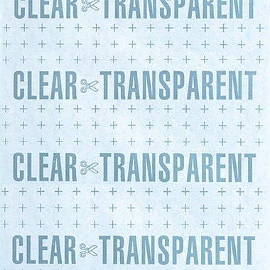 Self Adhesive Vinyl, Super Double Polished Clear,18