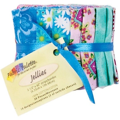 Fabric Palette Cotton, Punch of Paisley, 42