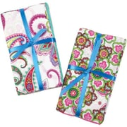 "Fabric Bundle Assortment, Punch of Paisley, 21""W"