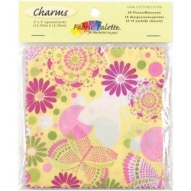 Fabric Palette Charm Pack, Flutterby, 5