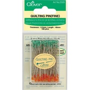 Clover Quilting Pins Fine 48mm, 100/Pack