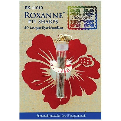 Colonial Needle Roxanne Sharps Hand Needles, Size 10, 50/Pack