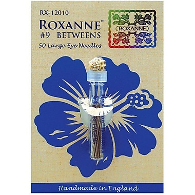 Colonial Needle Roxanne Betweens Hand Needles, Size 9, 50/Pack