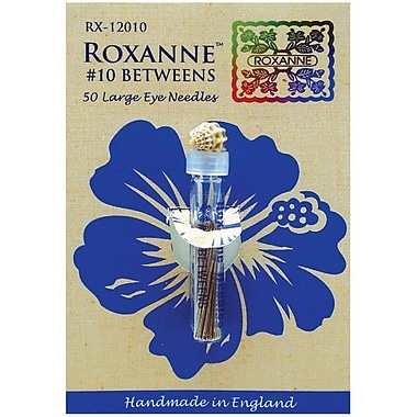 Colonial Needle Roxanne Basting Hand Needles, Size 10, 50/Pack