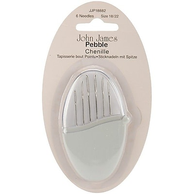 Colonial Needles Pebbles Chenille Needles, Size 18/22, 6/Pack