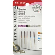 Singer Universal Quilting Needles, Assorted Sizes, 10/Pack