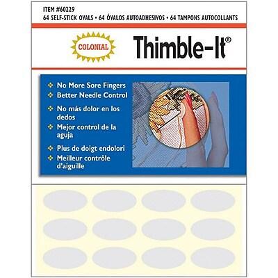 Thimble-It Finger Pads, 64/Pkg