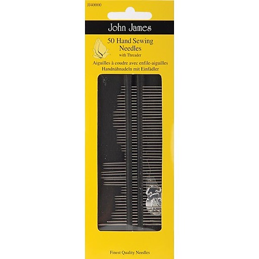 Colonial Needle Hand Needles With Threader Size 7, 50/Pack