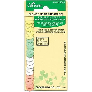 Flower Head Pins, 20/Pkg