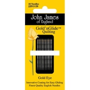 Colonial Needle Gold'n Glide Quilting Needles, Size 12, 10/Pack