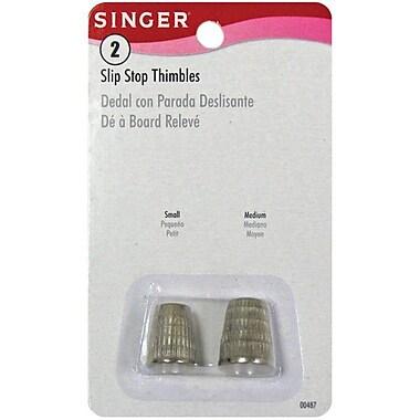 Metal Slip Stop Thimbles, 2/Pkg, Small & Medium