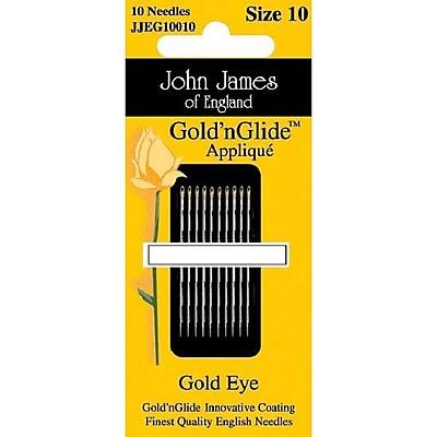 Gold'n Glide Applique Hand Needles; Size 9, 10/Pkg