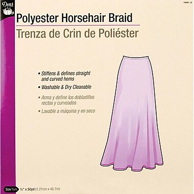 Horsehair Braid, 1/2