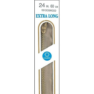 Extra Long Metal Zipper, 30