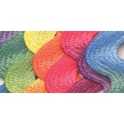 "Jumbo Printed Rick Rack, Rainbow, 5/8"" 2-1/2 Yards"
