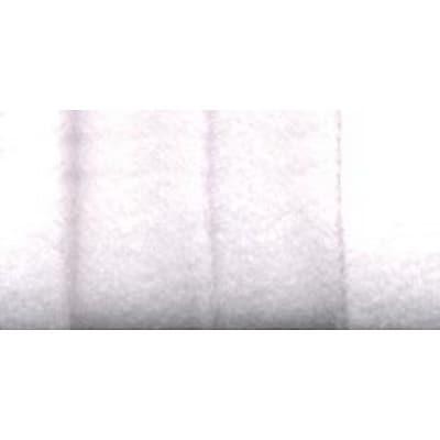 Double Fold Fleece Binding, White, 1/2