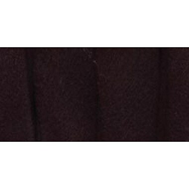 Double Fold Fleece Binding, Black, 1/2