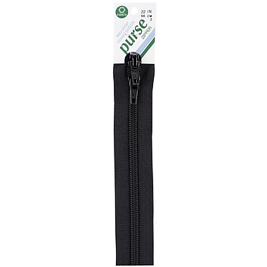 Purse Double Slider Zipper, 22