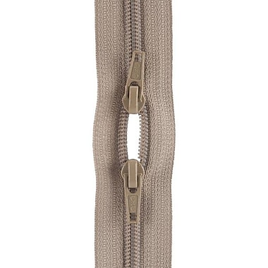 Purse Double Slider Zipper, 18