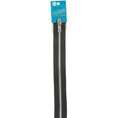 Fashion Metal Aluminum Closed Bottom Zipper, 14