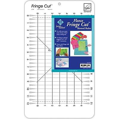 Fringe Cut Slotted Ruler