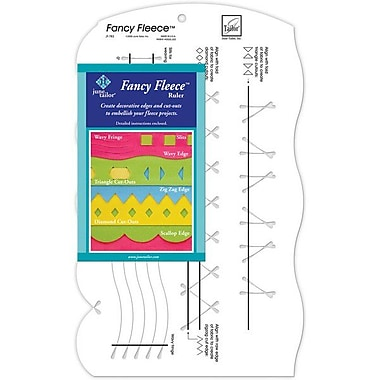 Fancy Fleece Slotted Ruler, 9.5