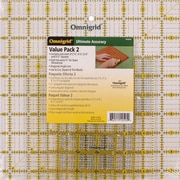 Omnigrid Ruler Value Pack, 2-4/Pkg