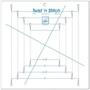 Twist 'n Stitch Ruler